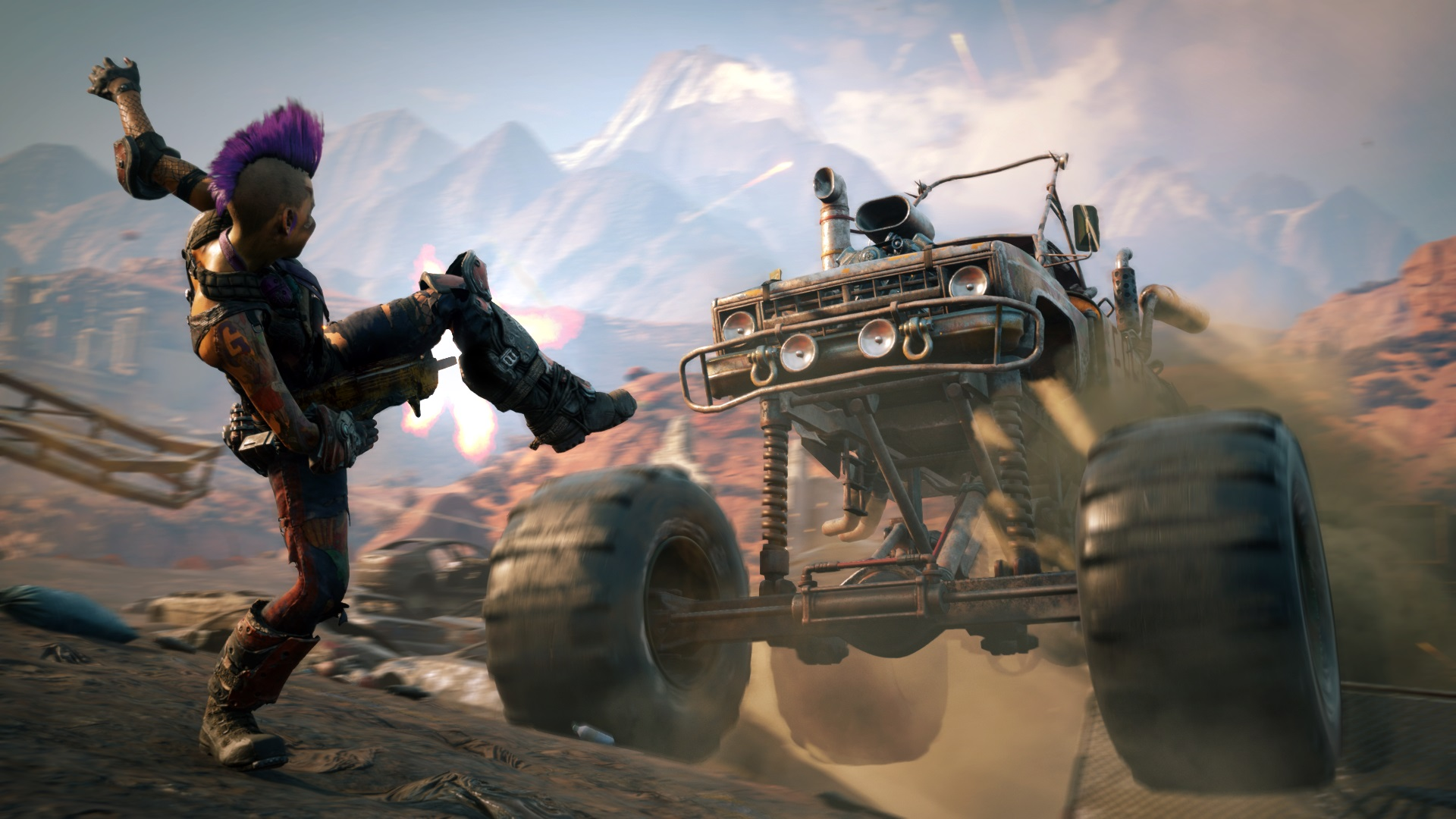 RAGE 2 - Xbox One X/PS4 Pro 1080p/60fps - Xbox One/PS4 30fps